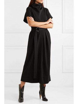 Givenchy belted jersey midi dress