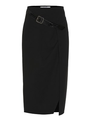 Givenchy Belted wool skirt