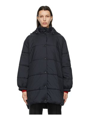 Givenchy black insulated logo puffer coat