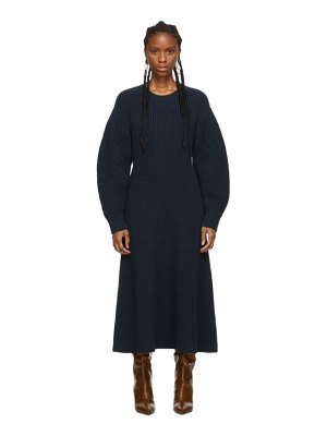 Givenchy blue look 23 knit dress