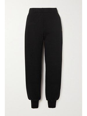 Givenchy brushed cotton-jersey track pants