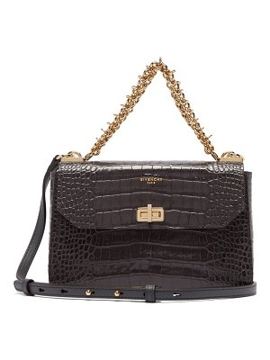 Givenchy catena small croc-effect leather cross-body bag