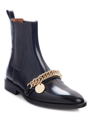 Givenchy chain chelsea ankle boot