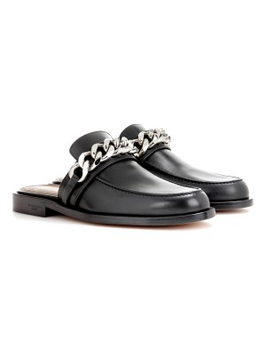 Givenchy Chain leather slippers