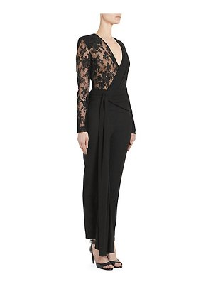 Givenchy chantilly lace jumpsuit