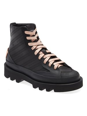 Givenchy clapham perforated logo sneaker boot