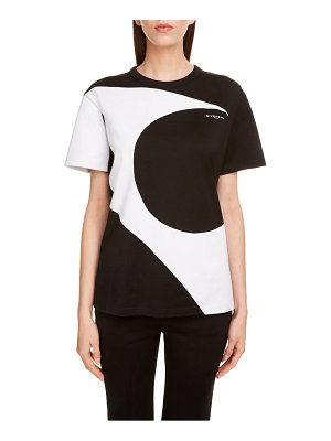 Givenchy comma graphic cotton tee