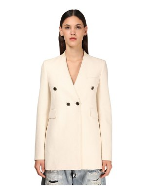 Givenchy Cotton blend double breasted jacket
