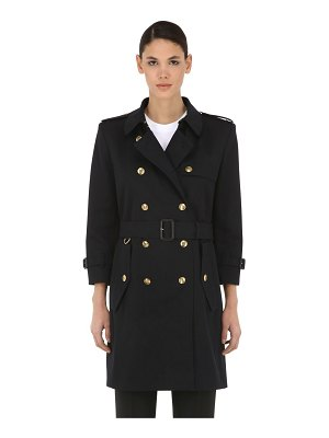 Givenchy Cotton canvas trench coat