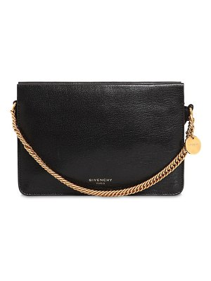 Givenchy Cross 3 leather & suede shoulder bag