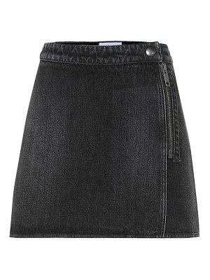 Givenchy denim miniskirt