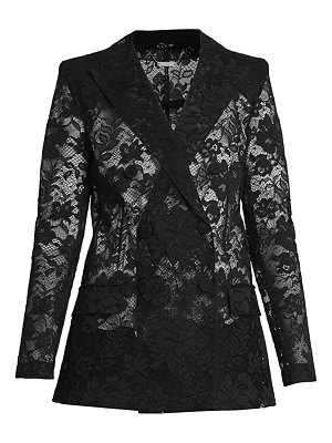 Givenchy double breasted lace jacket