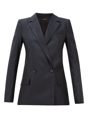 Givenchy double-breasted wool-blend twill suit jacket