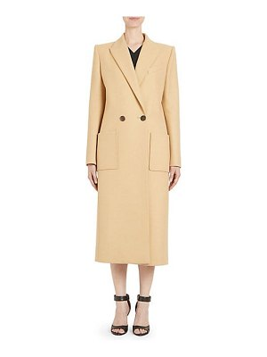 Givenchy double breasted wool coat