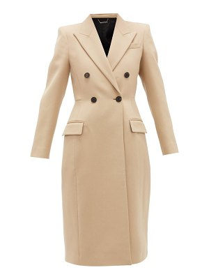 Givenchy double-breasted wool-tricotine coat