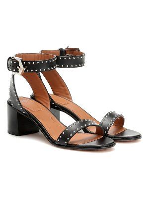 Givenchy elegant 60 studded leather sandals