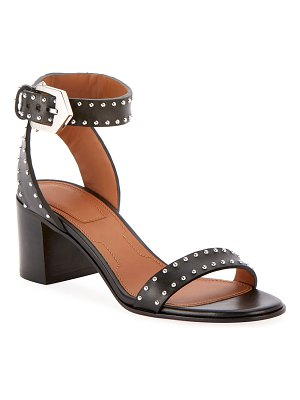 Givenchy Elegant Studded Leather Sandals