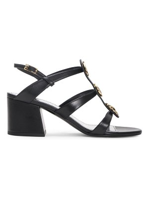 Givenchy embellished leather slingback sandals