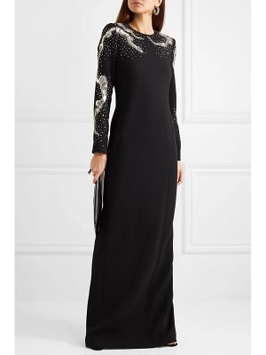 Givenchy embellished wool-crepe gown