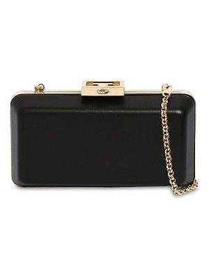 Givenchy Evening smooth leather clutch