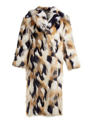 Givenchy faux fur coat