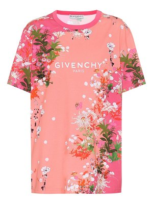 Givenchy floral cotton-jersey t-shirt
