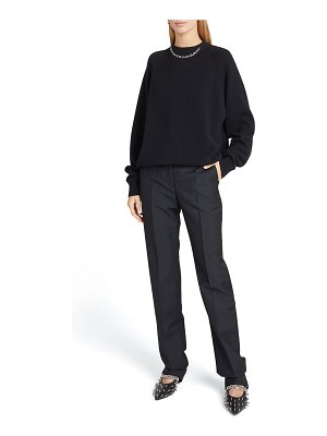 Givenchy G Chain-Collar Cashmere Sweater