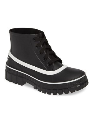 Givenchy glaston waterproof ankle rain boot