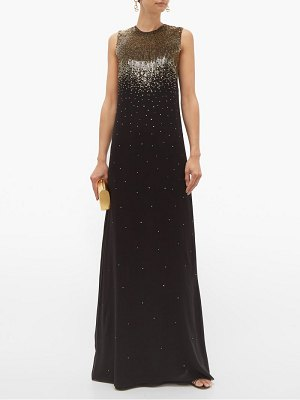 Givenchy gradient sequin silk georgette gown