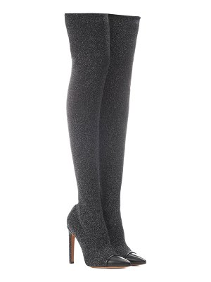 Givenchy graphic over-the-knee boots