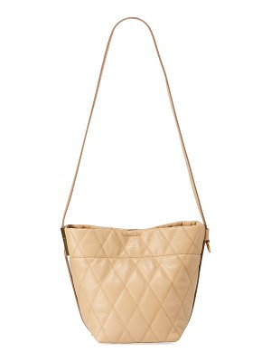 Givenchy GV Quilted Mini Bucket Bag