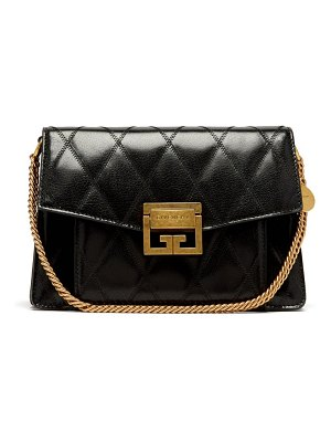 Givenchy Gv3 Small Quilted Leather Cross Body Bag
