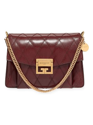Givenchy GV3 Small Quilted Leather Crossbody Bag