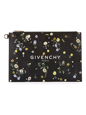 Givenchy Iconic Medium Floral Clutch Bag
