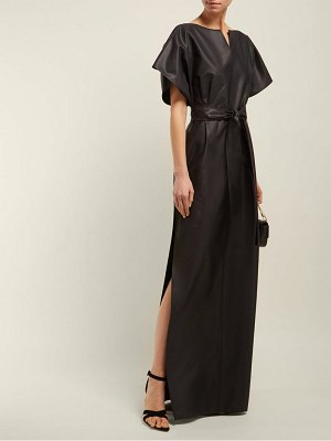 Givenchy silk blend faille gown