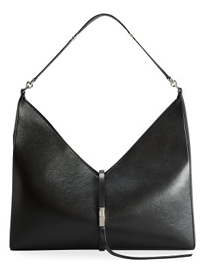 Givenchy Large Cutout Shoulder Bag in Box Leather with Chain