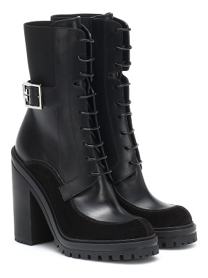 Givenchy Leather and suede ankle boots
