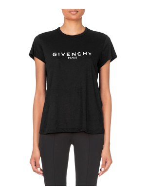 Givenchy Logo-Graphic Short-Sleeve Fitted Tee