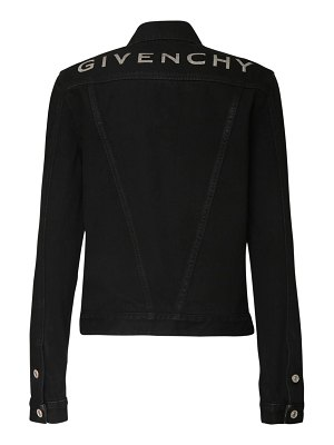 Givenchy Logo print cotton denim jacket