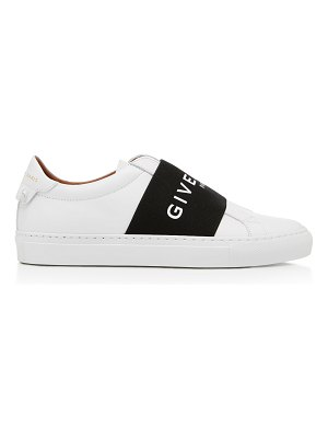 Givenchy logo-printed leather sneakers