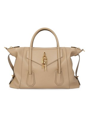 Givenchy medium antigona lock soft leather satchel