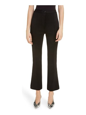 Givenchy milano knit crop flare pants