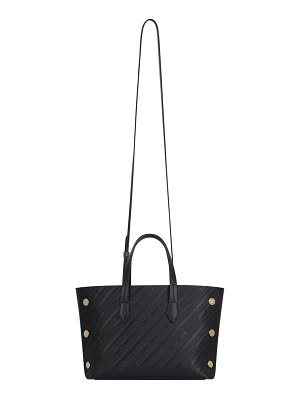 Givenchy mini bond embossed calfskin leather tote