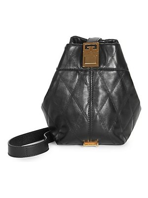 Givenchy mini gv3 quilted leather bucket bag