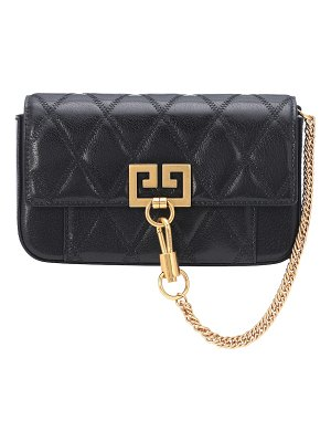 Givenchy pocket mini leather shoulder bag