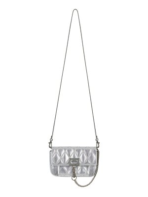 Givenchy mini pocket metallic quilted crossbody bag