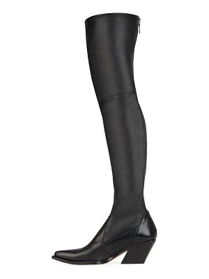 Givenchy Over-The-Knee Cowboy Boot