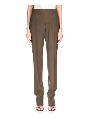 Givenchy Pinch-Stitch Wool Tapered Trousers