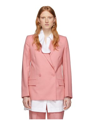 Givenchy pink structured blazer