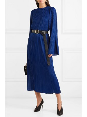 Givenchy plissé-crepe maxi dress